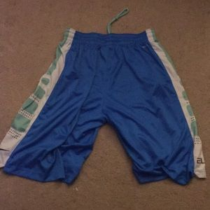 Blue Nike Elite Shorts